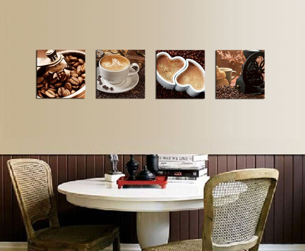 Caffeinate Your Kitchen With Coffee Themed Artwork!