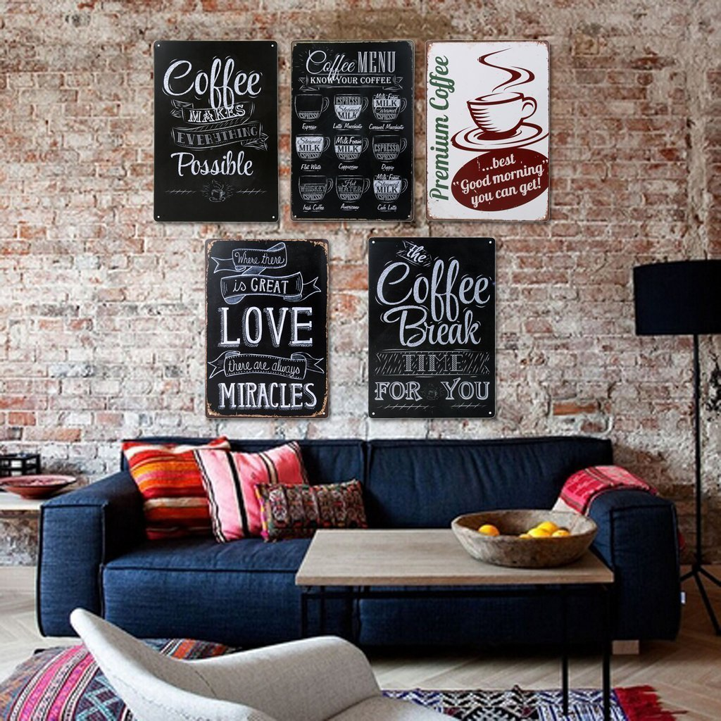 Caffeinate Your Kitchen With Coffee Themed Artwork