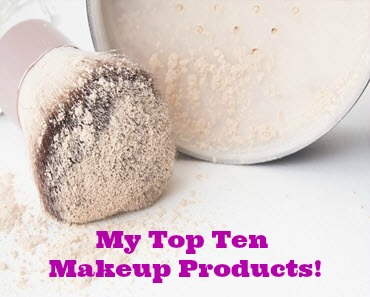 My Top Ten Makeup Products_Sassy Townhouse Living