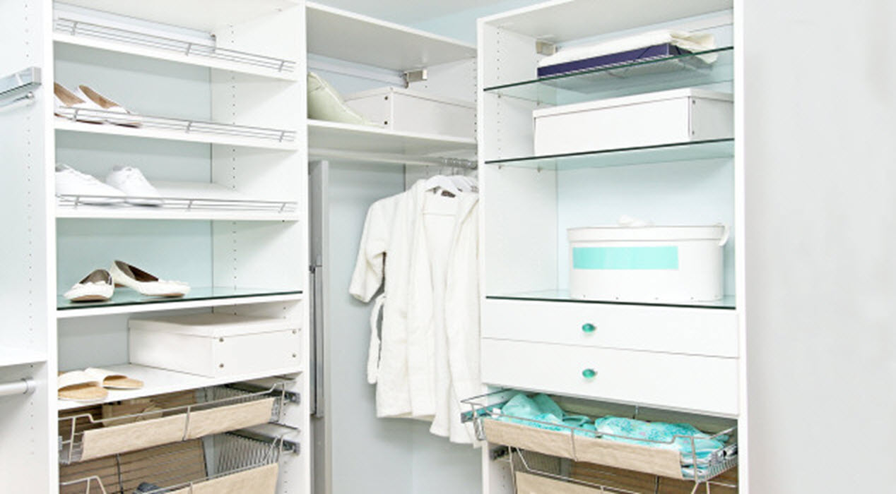 Creating A Small Walk-in Closet That Packs A Punch!