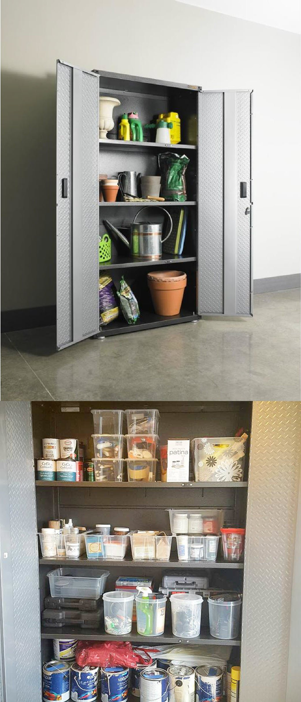 Organize Your Garage Designer Cabinets