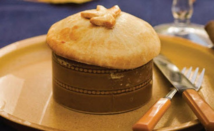 Fall Roasted Chicken Pies