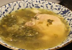 Easy And Delicious Escarole Soup with Pork Chops Recipe