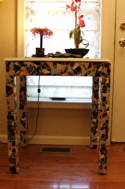 Handmade Ceramic Table