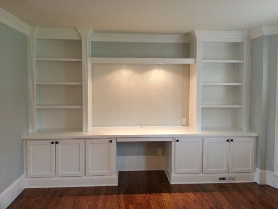 Transform your home office with built in cabinets for Built in cabinets