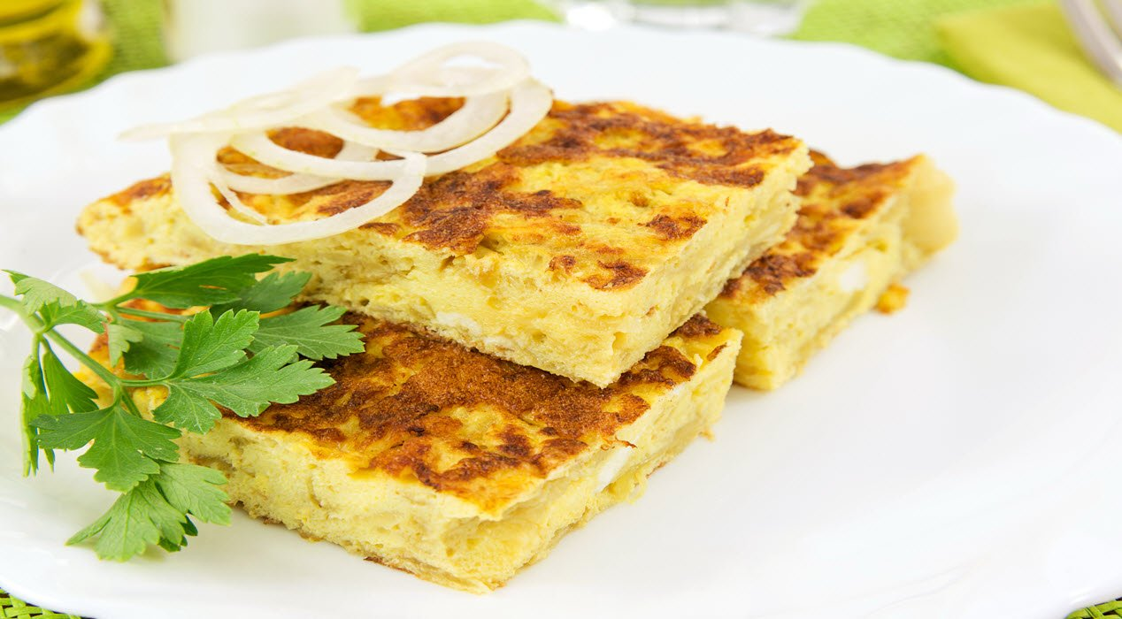 Corn, Cheese, and Onion Frittata – Easy and so Delicious!