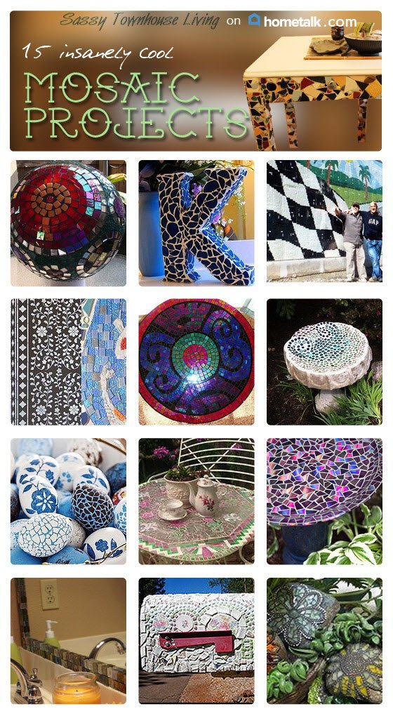 15 Insanely Cool Mosaic Projects