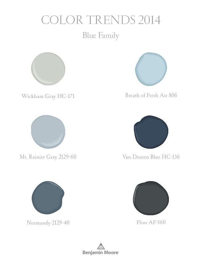 most popular paint colors