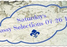 Saturday's Sassy Selections