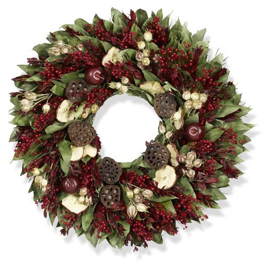 Harvest Apple Wreath