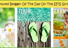 I'm A Featured Blogger Of The Day On The SITS Girls Today