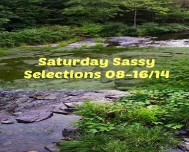 Sunday's Sassy Selections