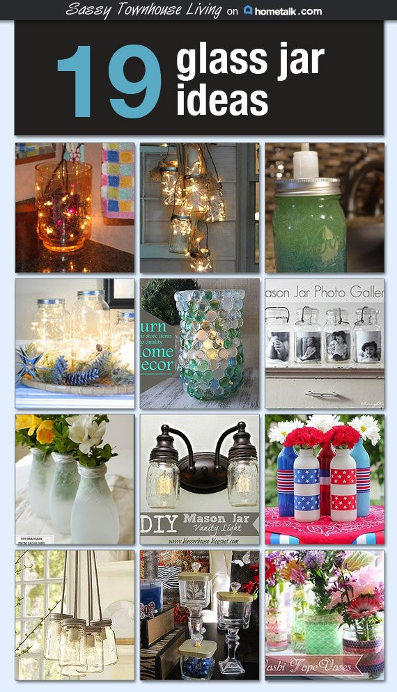 19 Glass Jar Ideas - Featured at Hometalk!