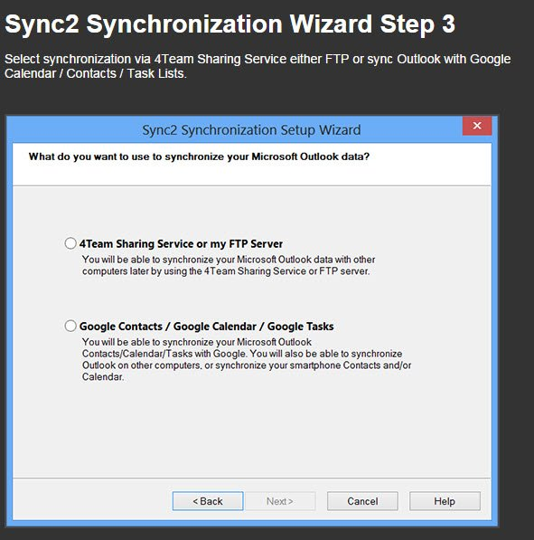Sync2 - Sync Microsoft Outlook Between PC's And Mobile Devices