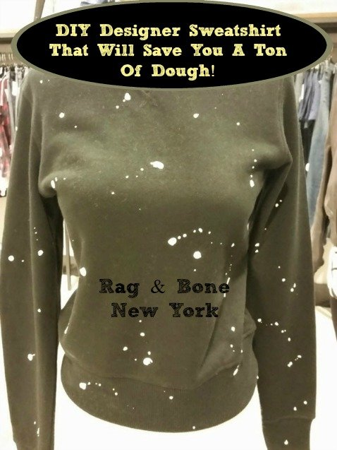 diy rag and bone sweatshirt