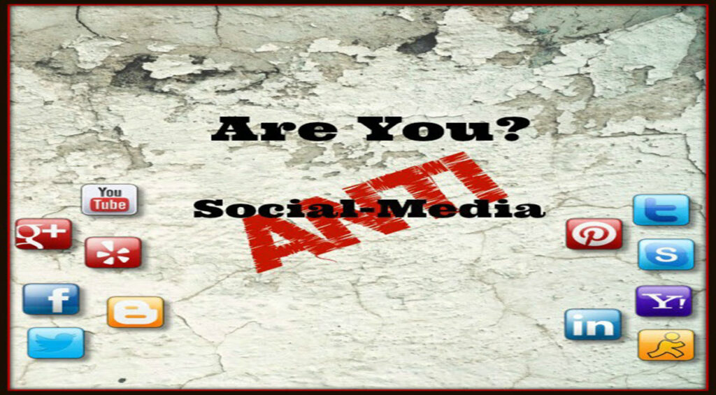 Is Social Media Really Anti-Social