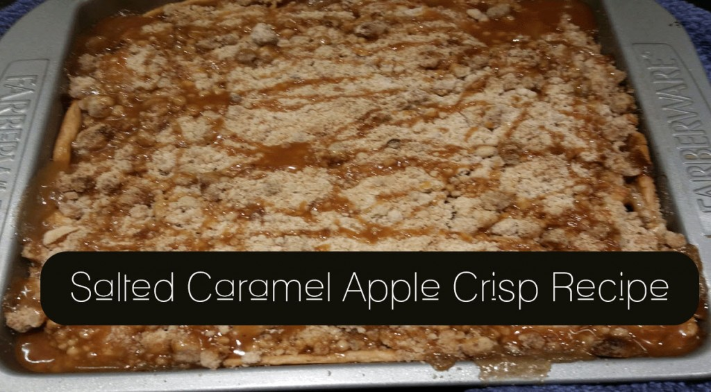 Salted Caramel Apple Crisp - Sassy Townhouse Living