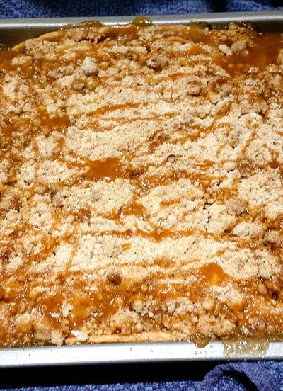 Salted Caramel Apple Crisp Recipe