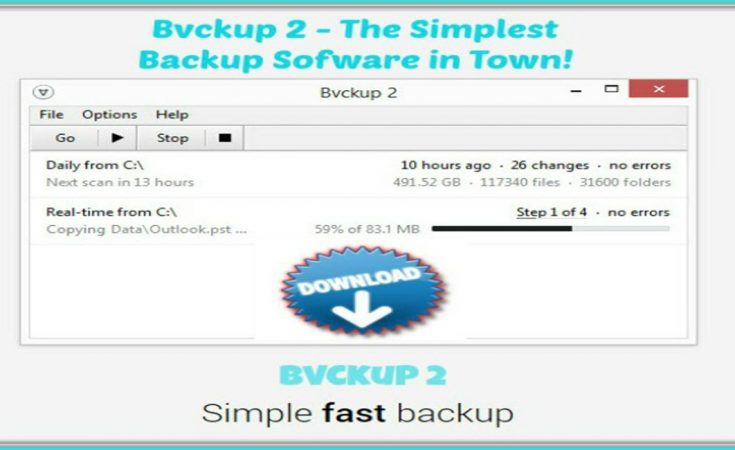 Bvckup 2 - The Simple and Fast Way To Backup Your PC