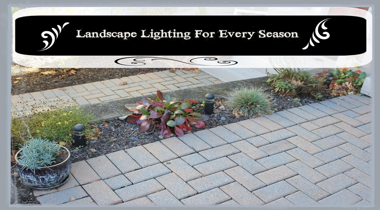 Landscape Lighting For Every Season