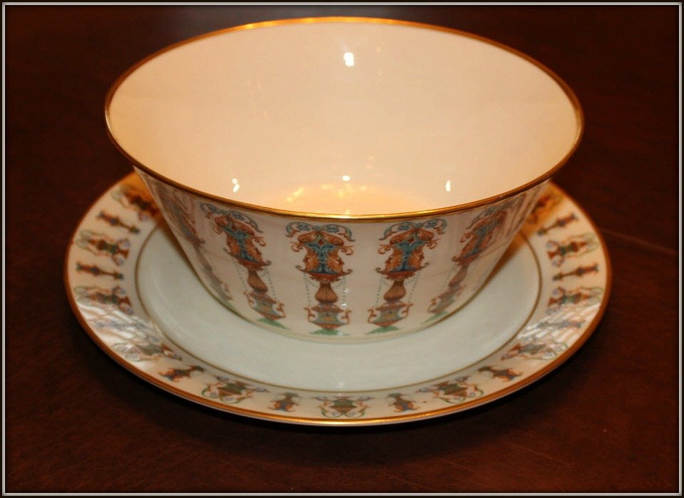Lenox Bowl and Tray