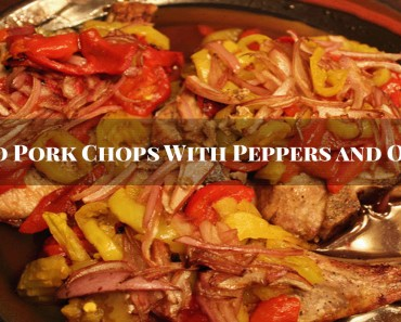 Pork Chops and Peppers - Sassy Townhouse Living