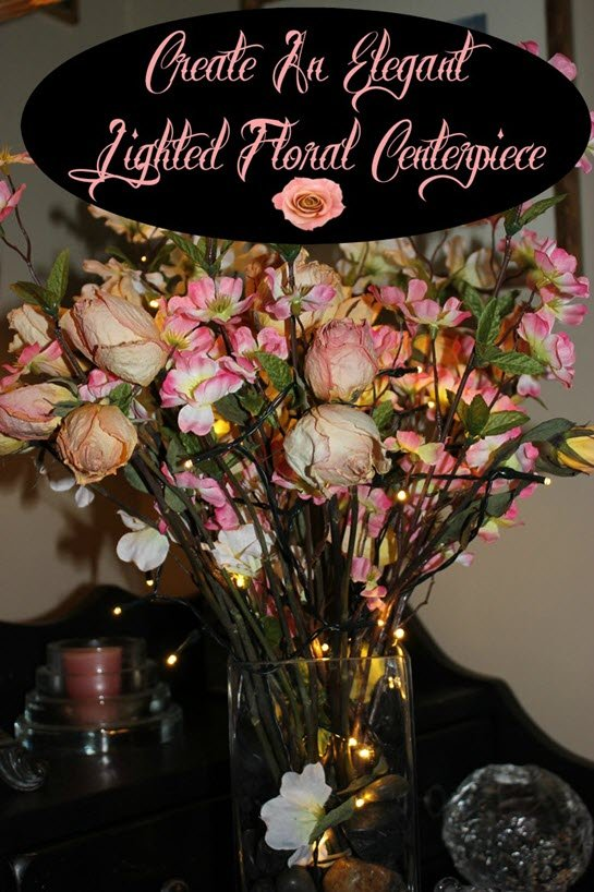 create an elegant lighted floral centerpiece sassy townhouse living