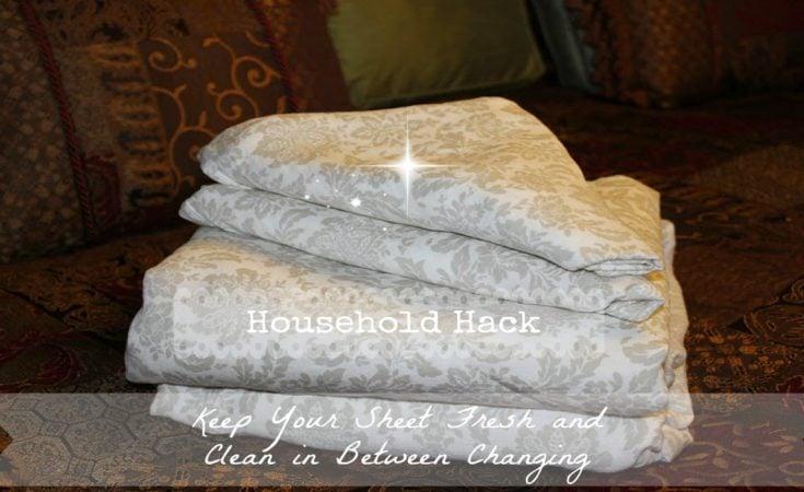 Household hack - Wash white sheets keep fresh ...