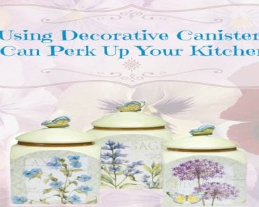 Using Decorative Canisters Can Perk Up Your Kitchen - Sassy Townhouse Living