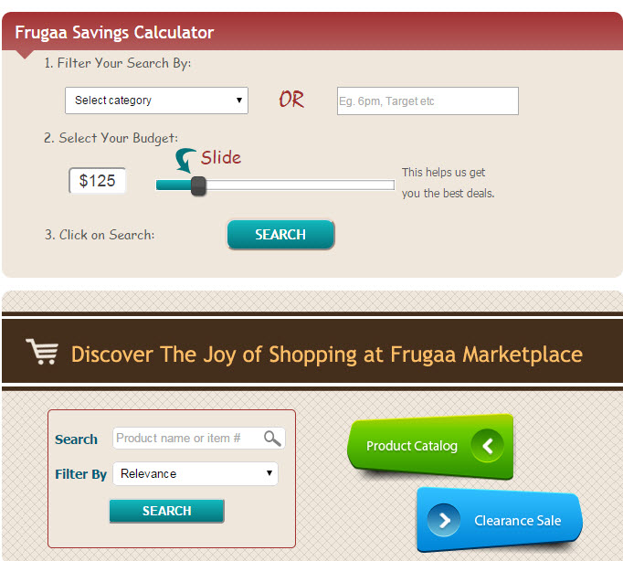Savings Calculator Frugga.com Simply The Best Place For Coupons