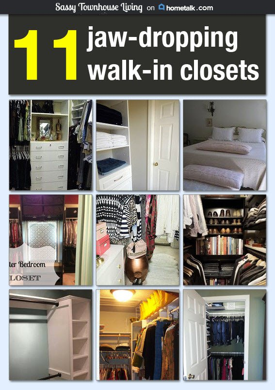 HomeTalk Stunning Walk-In Closets