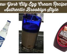 New York City Egg Cream Recipe Authentic Brooklyn Style - Sassy Townhouse Living