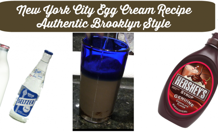 New York City Egg Cream Recipe Authentic Brooklyn Style - Sassy Townhouse Living