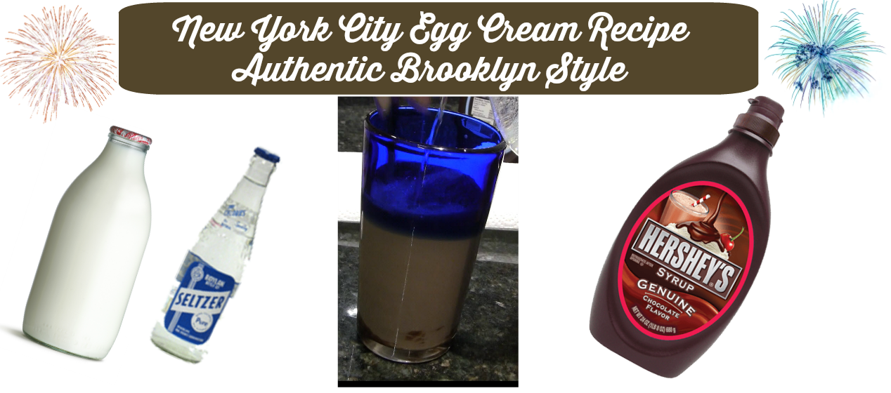 New York City Egg Cream Recipe Authentic Brooklyn Style