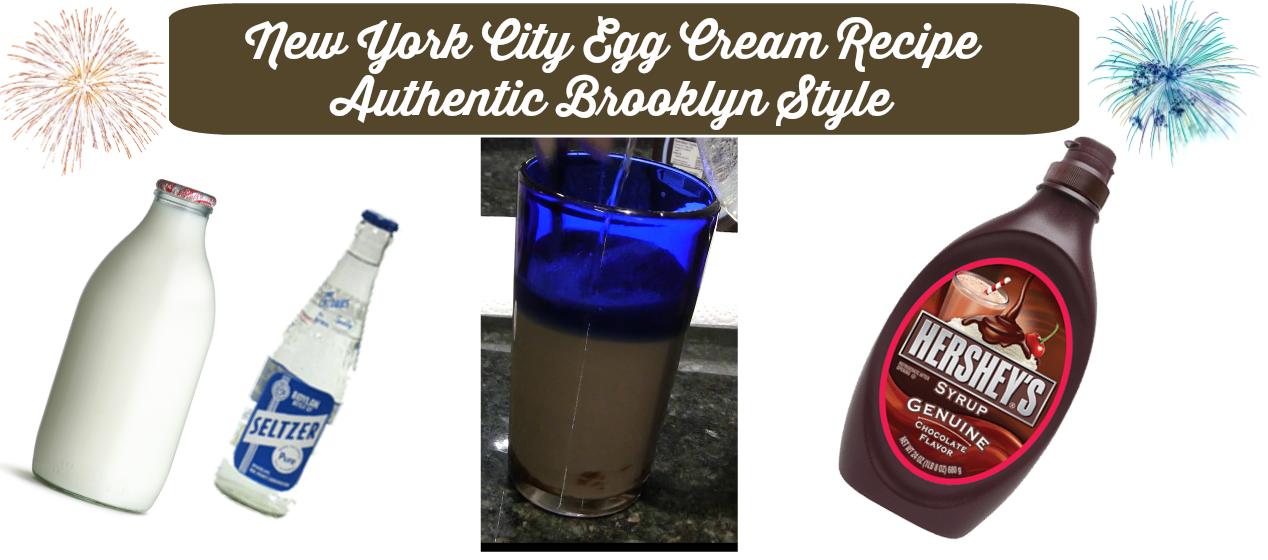 New York City Egg Cream Recipe Authentic Brooklyn Style