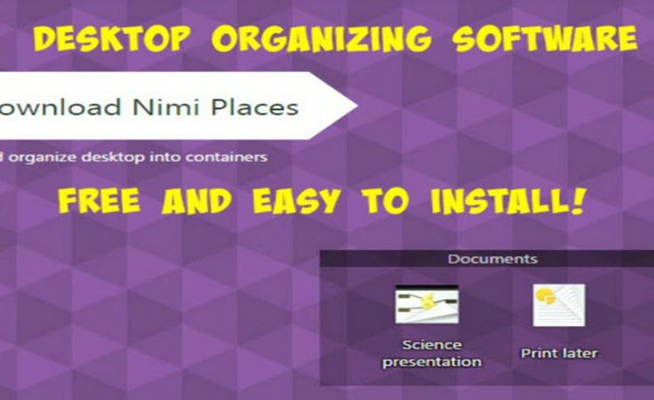 Nimi Places Desktop Organizing Software - Sassy Townhouse Living