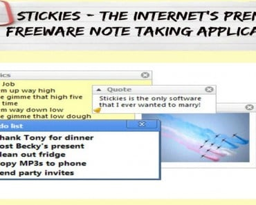 Stickies - The Internet's Premier Freeware Note Taking Application - Sassy Townhouse Living