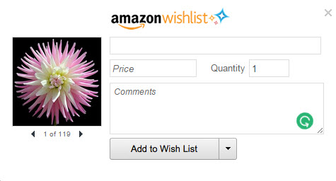 Add to Amazon Wish List Extension