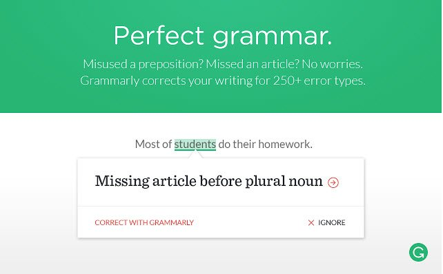 Grammarly Spell Checker & Grammar Checker