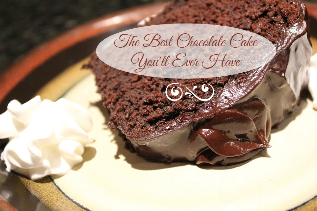 The Best Chocolate Cake Youll Ever Have Recipe
