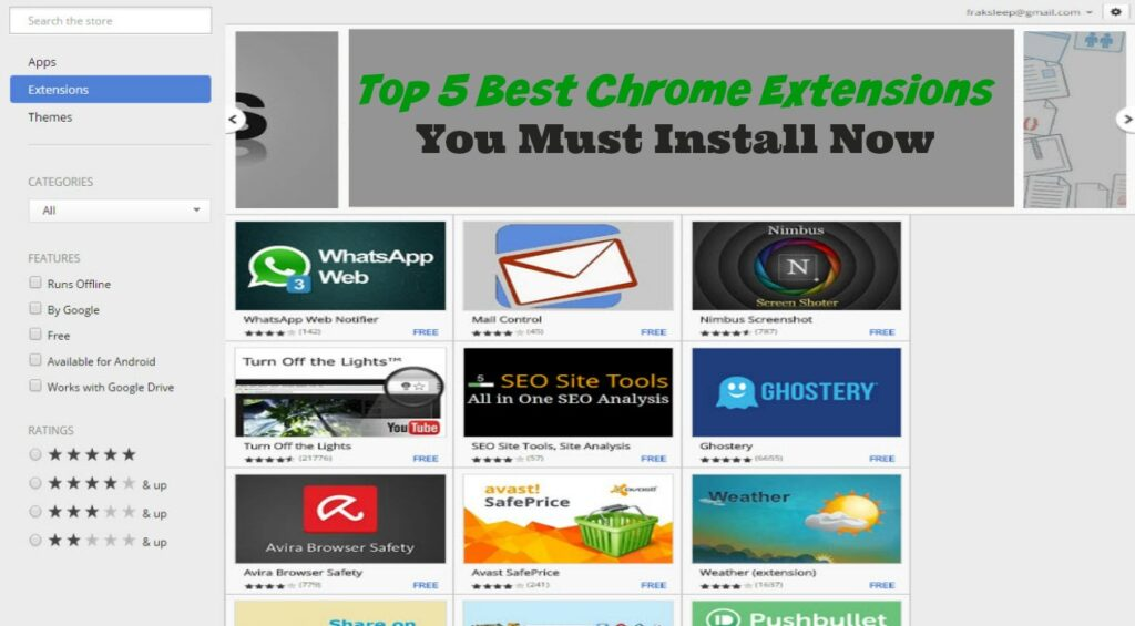 Top 5 Best Chrome Extensions You Must Install Now - Sassy Townhouse Living