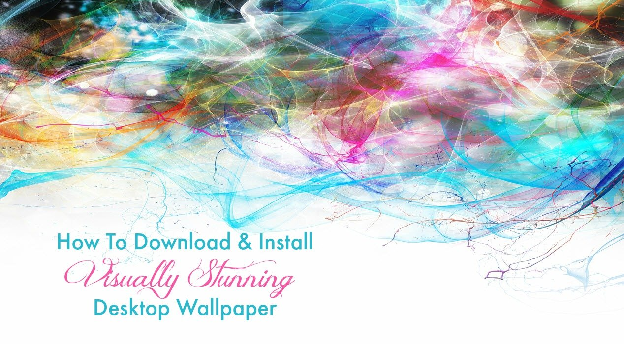 How To Download & Install Visually Stunning Desktop Wallpaper - Sassy Townhouse Living