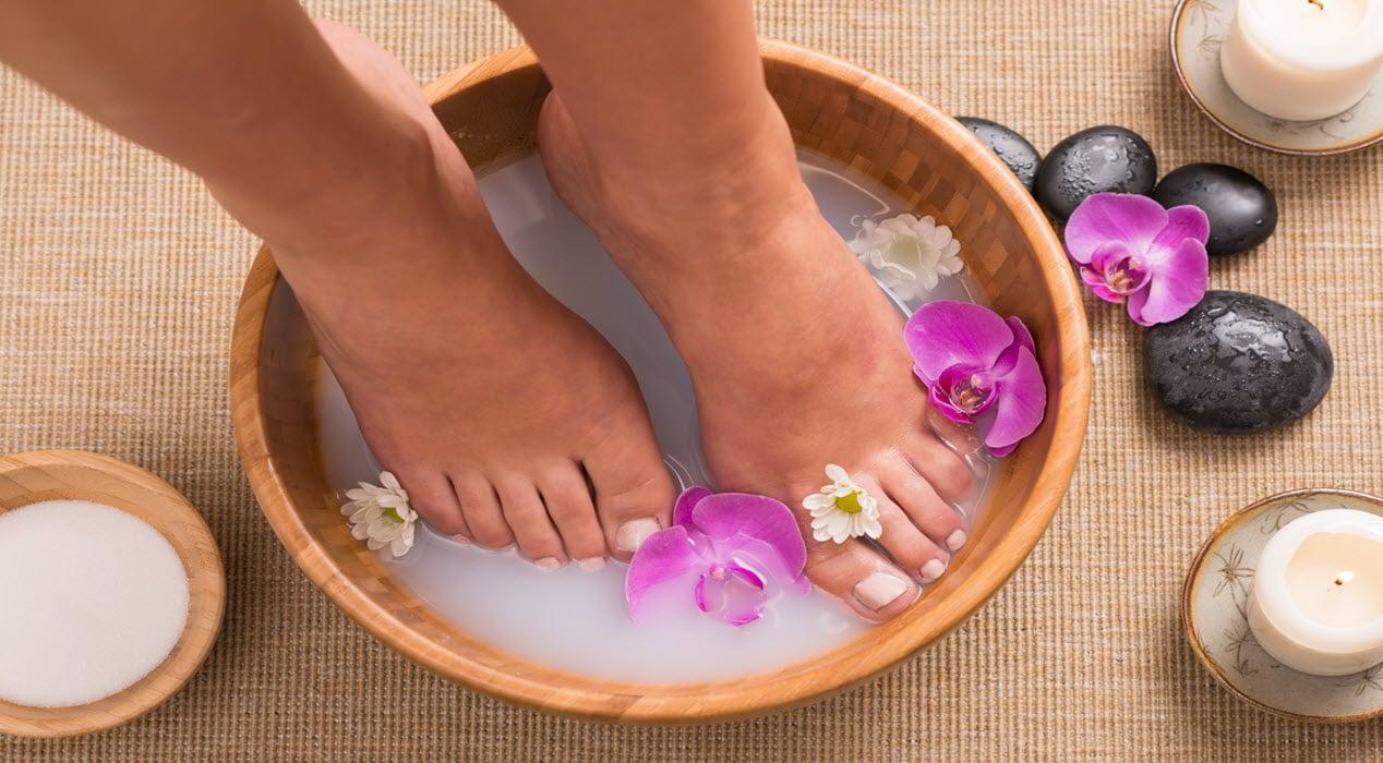 Ванночки для рук и ног в домашних условиях