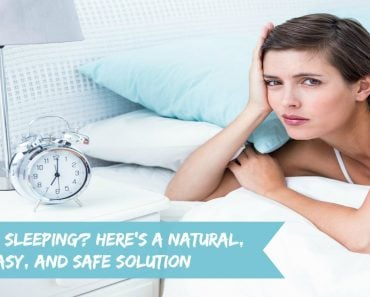 Trouble Sleeping Here's A Natural, Easy, And Safe Solution - Sassy Townhouse Living