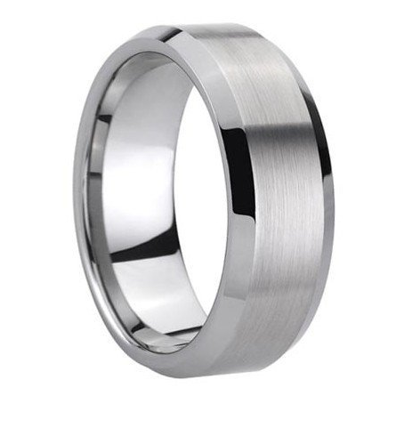 ungsten Carbide Mens Wedding Band Ring
