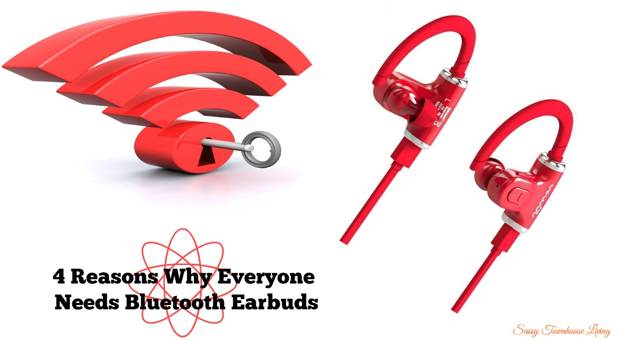 4 Reasons Why Everyone Needs Bluetooth Earbuds - Sassy Townhouse Living
