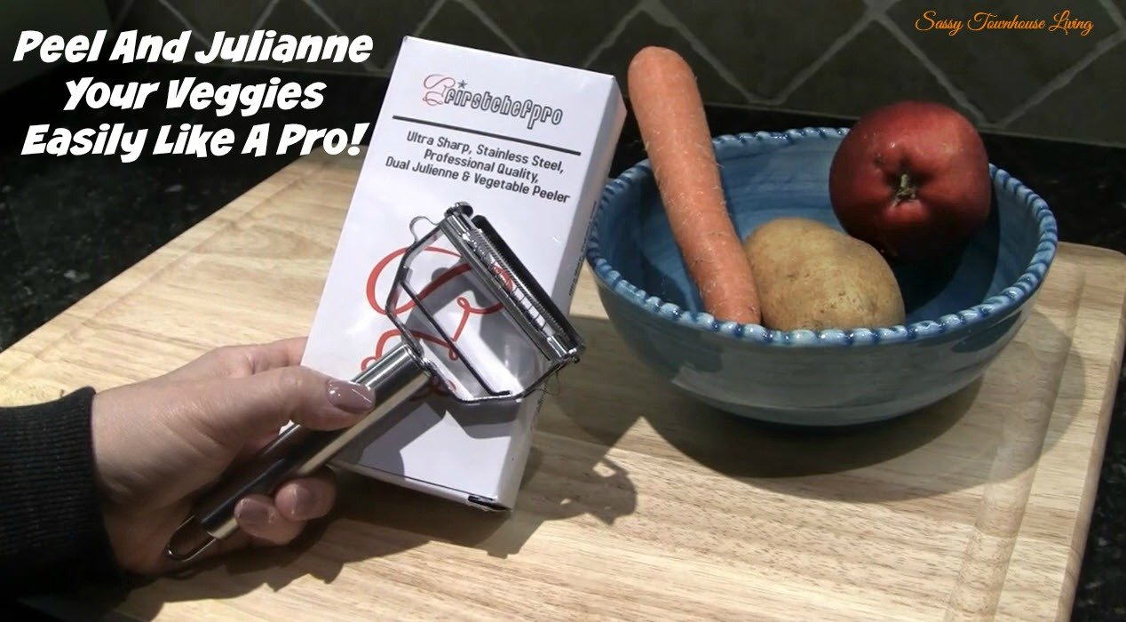 Peel And Julianne Your Veggies Easily Like A Pro!