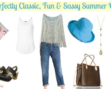 A Perfectly Classic, Fun & Sassy Summer Outfit - Sassy Townhouse Living