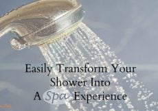 Easily Transform Your Shower Into A Spa Experience - Sassy Townhouse Living