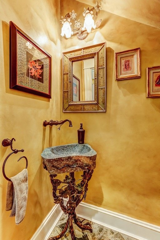 Designer Powder Room